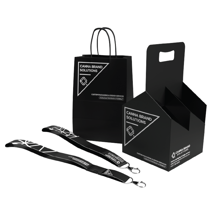 Custom Promotional Goods such as Landyards and Swag by Canna Brand Solutions
